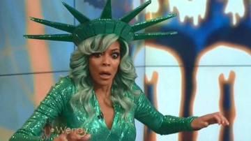 Wendy Williams se desmaya en directo