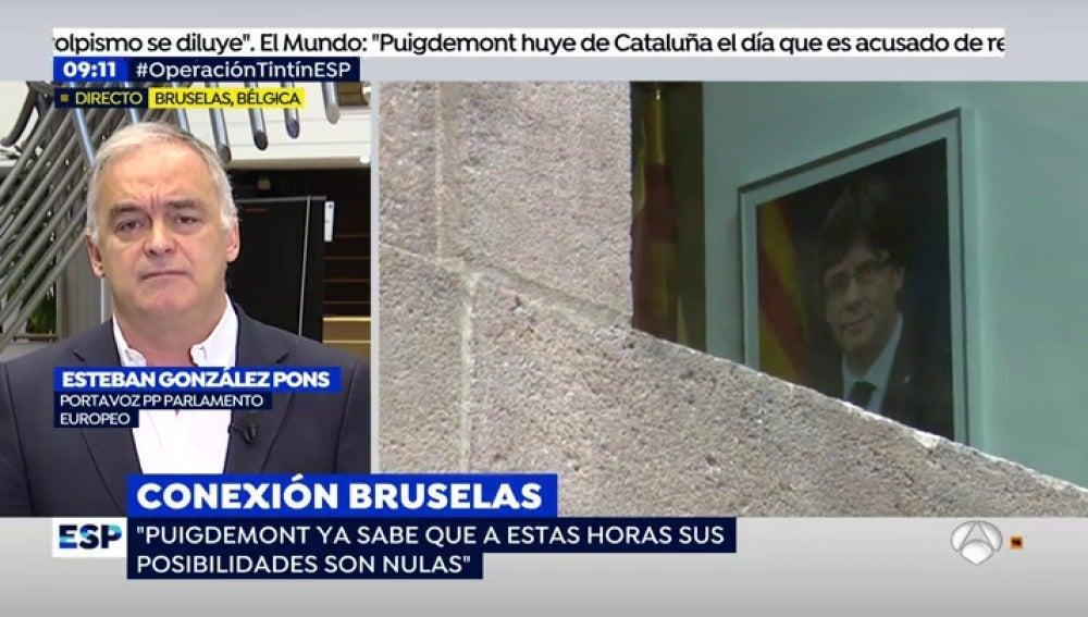 Esteban González Pons, en EP