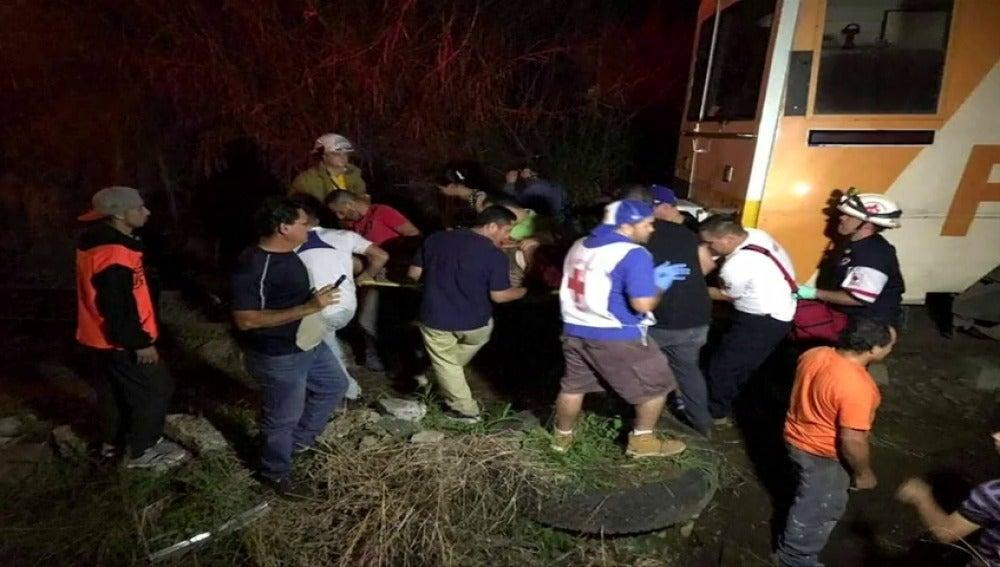 Choque de trenes en Costa Rica, al menos hay 21 heridos
