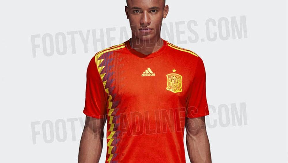 Camiseta España Mundial Rusia