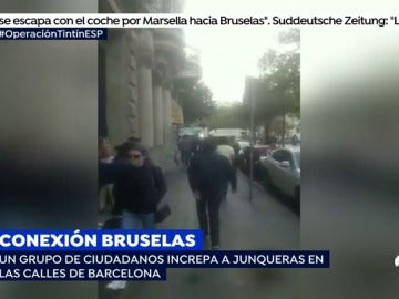 Increpan a Junqueras en Barcelona