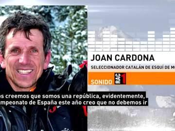 Joan Cardona, seleccionador catalán de Esquí de Montaña