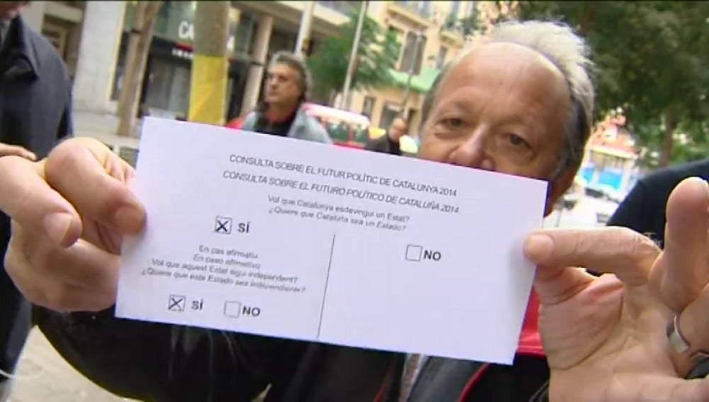 El proceso independentista catalán tomaba impulso hace tres años con el 9-N