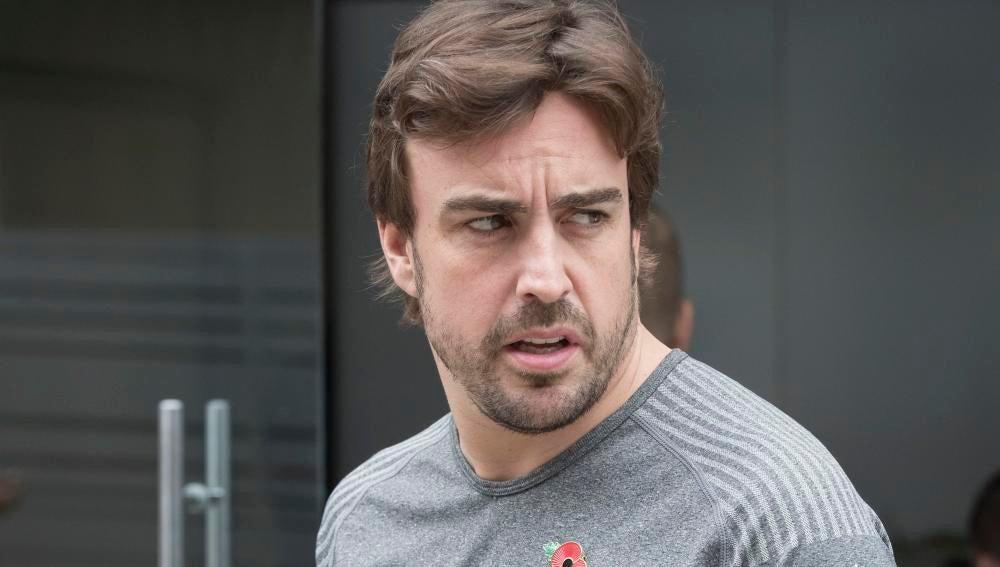 Fernando Alonso, en Interlagos