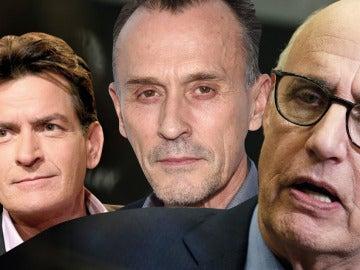 Charlie Sheen ('Dos Hombres y Medio'), Robert Knepper ('Prison Break') y Jeffrey Tambor ('Transparent')