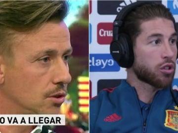 Guti y Sergio Ramos