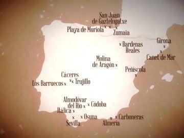 Los escenarios españoles de Juego de Tronos