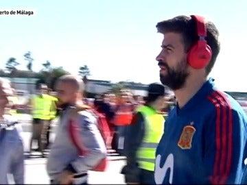 Málaga recibe a Gerard Piqué con normalidad