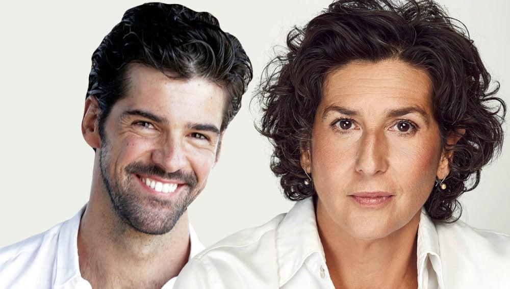 Miguel Ángel Muñoz y Elvira Mínguez
