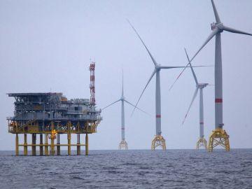 Parque Eólico de Iberdrola en el Mar Báltico