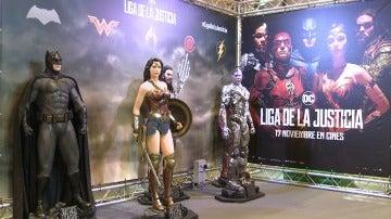 'Liga de la Justicia' en Heroes Comic Con