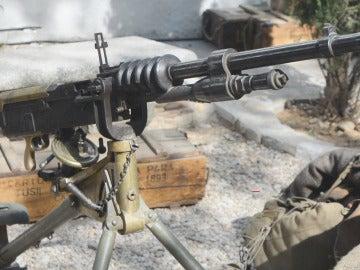 Uno de los elementos de atrezo más importantes de 'Tiempos de guerra': las armas