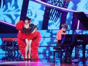 La Terremoto de Alcorcón se viste de flamenca para imitar 'El Morrongo' de Marujita Díaz