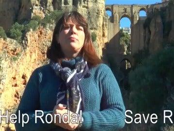 """Vecinos de Ronda versionan el vídeo de 'Help Catalonia' para pedir una autovía: """"Help Ronda! Save Ronda!"""""""