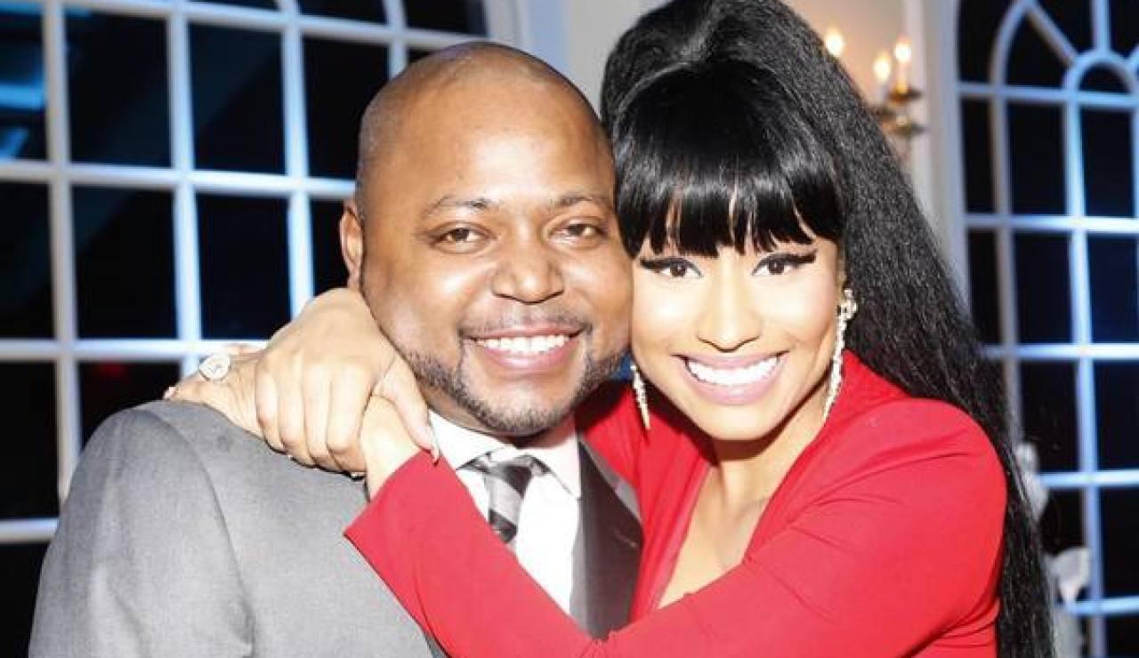 Nicki Minaj y su hermano Jelani Maraj