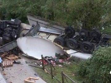 Dos muertos en un accidente en I