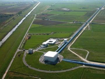 Imagen de la sede del proyecto VIRGO