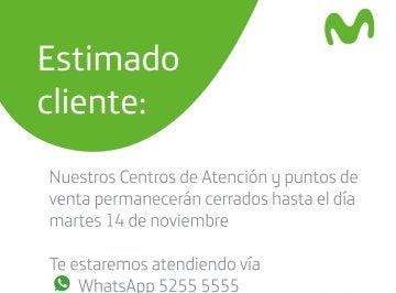 Movistar Guatemala cierra temporalmente tras varios ataques armados