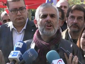 """Carrizosa dice que el mundo independentista está """"fracturado"""" y concurrirá a las elecciones del 21-D """"dividido"""""""