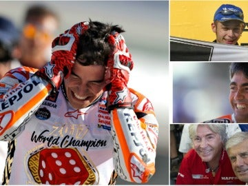Márquez intentará igualar los números de Rossi, Doohan o Agostini