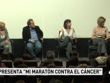 Se ha presentado el libro 'Mi maratón contra el cáncer', el libro de Jesús Martín Tapias que relata su carrera de fondo contra esta enfermedad