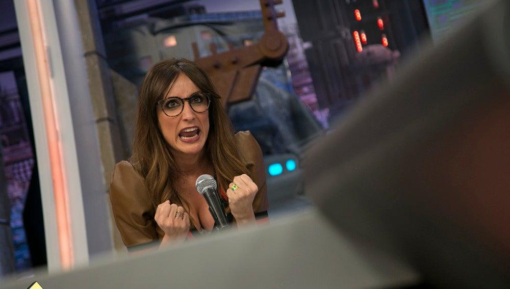 Ana Morgade imita a la hermana de Pablo Motos en 'El Hormiguero 3.0'