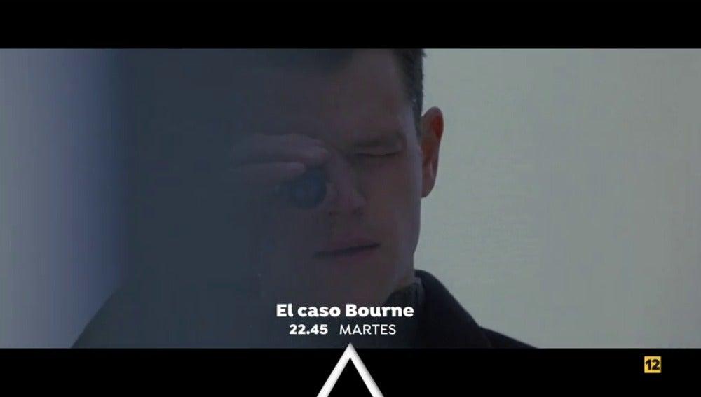Matt Damon protagoniza 'El caso Bourne' en Antena 3