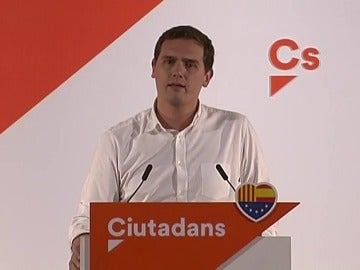 """Rivera: """"Hay que votar a Ciudadanos para que Iceta no haga un tercer tripartito"""""""