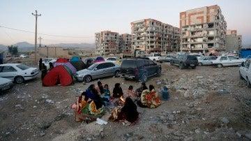 Varios edificios se han hundido en zonas rurales de Irán a causa del terremoto