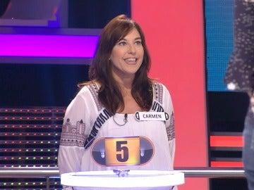 Una concursante pone a prueba el nivel de inglés de Arturo Valls