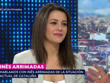 """Inés Arrimadas, sobre los independentistas: """"Están reconociendo ante el mundo que el 'procés' era mentira e inviable"""""""