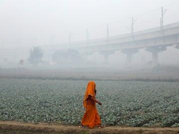 Contaminación en Nueva Delhi