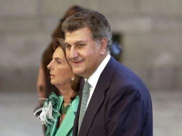 Jesús Posada y su esposa, Blanca de la Mata