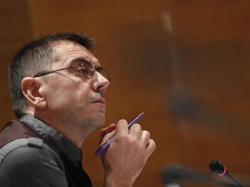 El cofundador de Podemos Juan Carlos Monedero