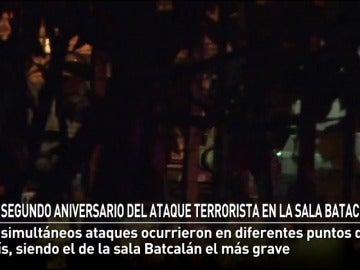 Segundo aniversario de Bataclan
