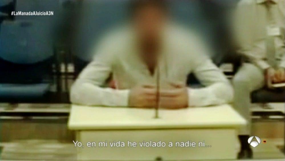 """Uno de los miembros de 'La Manada': """"A mi pareja la violaron con 14 años, ¿cómo me van a decir a mí que soy un violador?"""""""