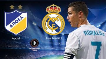 APOEL-Real-Madrid en Atresmedia