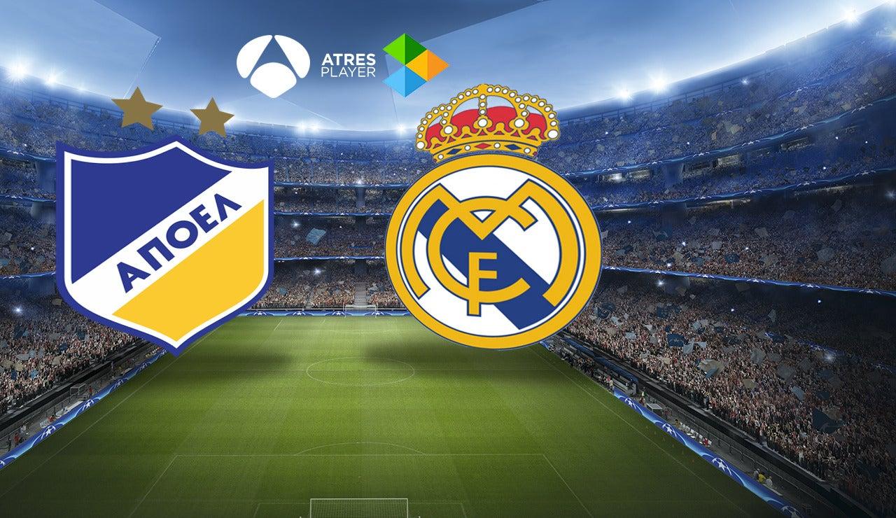 APOEL-Real Madrid en Atresmedia