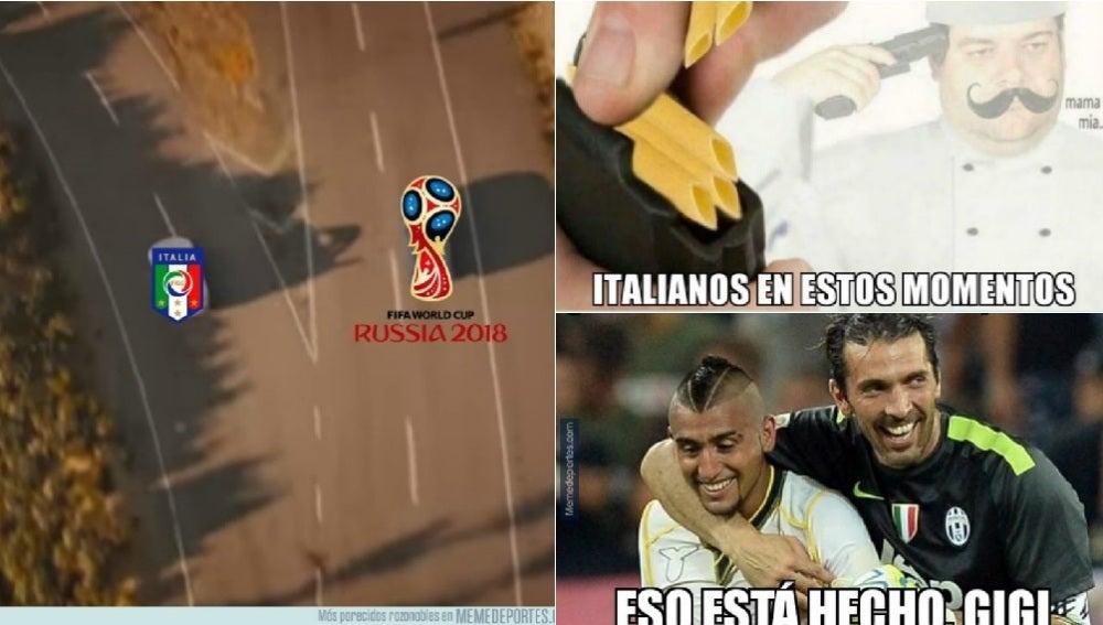 Los memes del Italia-Suecia
