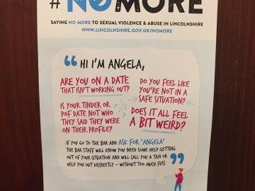 Campaña 'Pregunta por Ángela'