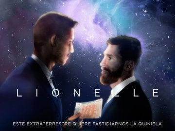 El cartel del Leganés 'imitando' al anuncio de la Lotería de Navidad