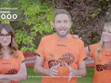 Ya somos 10.000 inscritos a la 9ª Carrera Ponle Freno de Madrid