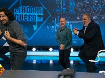 El calambrazo más divertido de Jorge Salvador en 'El Hormiguero 3.0'