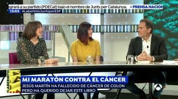 'Mi maratón contra el cáncer', el libro del periodista Jesús Martín Tapias