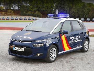 Un coche de Policía Nacional en una imagen de archivo