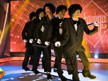 Pilar Rubio se convierte en The Jackson 5 en 'El Hormiguero 3.0'