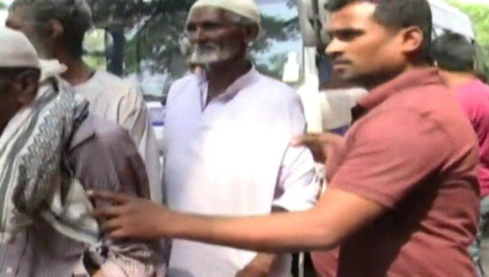 Una ciudad india 'esconde' a sus mendigos antes de la llegada de Ivanka Trump