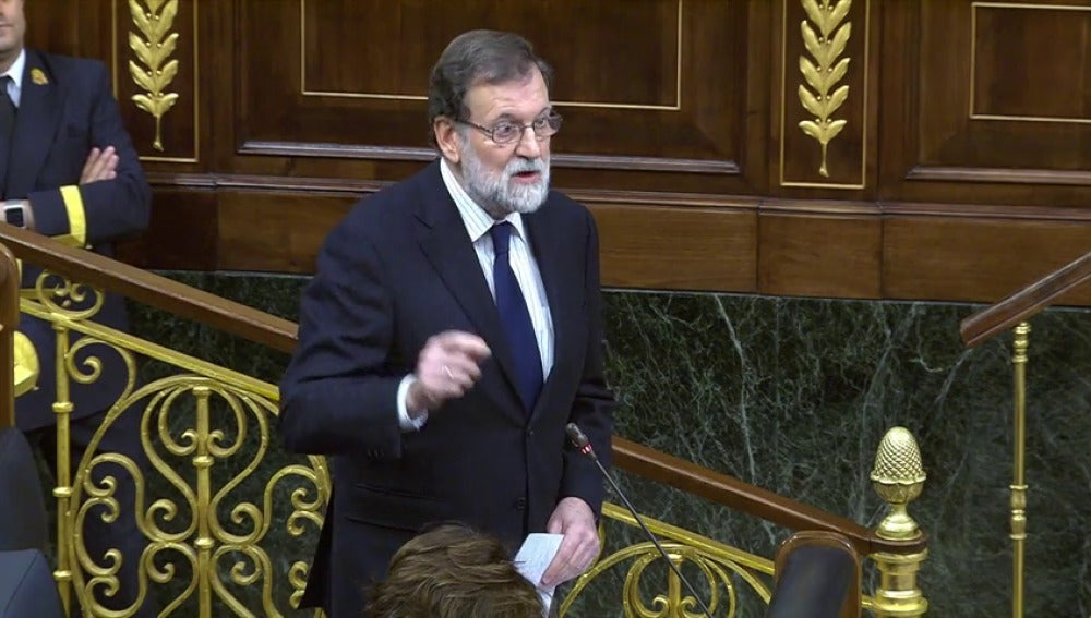 """Iglesias llama """"delincuente"""" a Rajoy y el presidente le pide que explique si su formación """"ha sido financiada por Venezuela e Irán"""""""