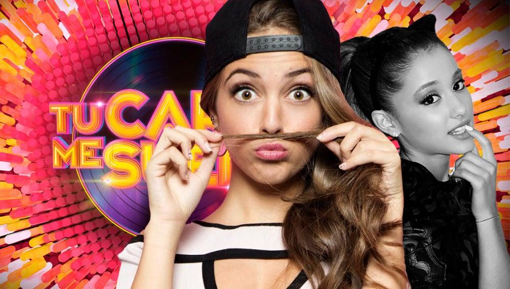 Ana Mena imitará a Ariana Grande en 'Tu cara me suena'.