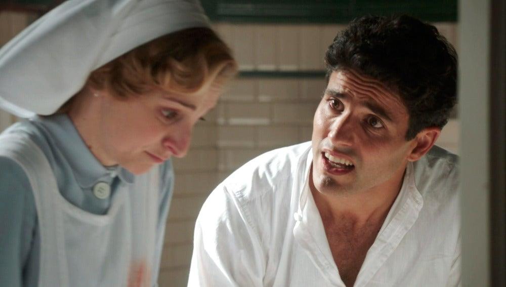 Larbi pide explicaciones a Magdalena por la llegada de Daniel